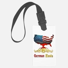 American German Roots Luggage Tag