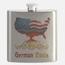 American German Roots Flask
