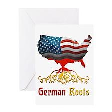American German Roots Greeting Card