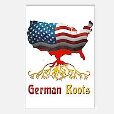 American German Roots Postcards (Package of 8)
