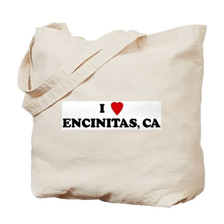 I Love ENCINITAS Tote Bag