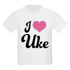 I Heart Uke T-Shirt