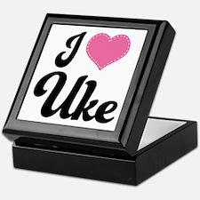 I Heart Uke Keepsake Box