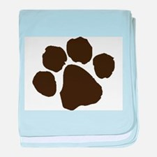 Paw baby blanket