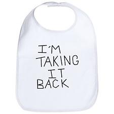 Taking Back Bib
