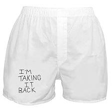 Taking Back Boxer Shorts