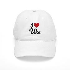I Heart Uke Cap