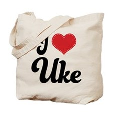 I Heart Uke Tote Bag
