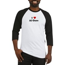 I Love Al Gore Baseball Jersey