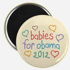 Babies For Obama Magnet