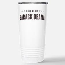 Obama Once Again Travel Mug