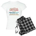 Obamacare vs Don't Care Women's Light Pajamas