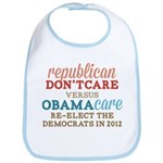 Obamacare vs Don't Care Bib
