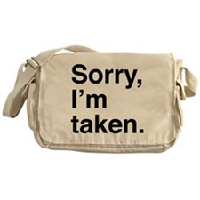 Sorry, I'm Taken. Messenger Bag