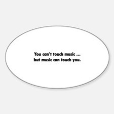 Touch Music Decal