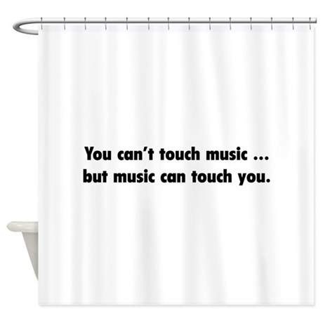 Touch Music Shower Curtain