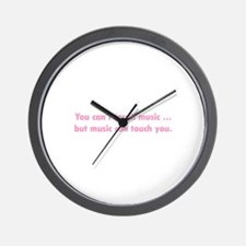 Touch Music Wall Clock