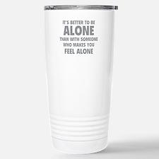 Alone Travel Mug