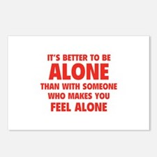 Alone Postcards (Package of 8)