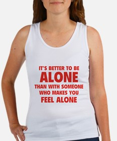 Alone Women's Tank Top