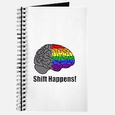 Shift Happens! Blk - Brain Journal