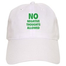 NO Negative Thoughts Allowed Baseball Cap