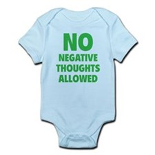 NO Negative Thoughts Allowed Infant Bodysuit