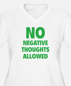 NO Negative Thoughts Allowed T-Shirt