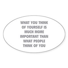 Think Of Yourself Decal