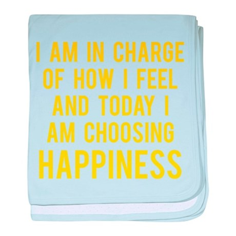Happiness baby blanket