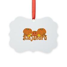 Halloween Pumpkin Alejandro Ornament