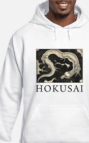 Hokusai Dragon Hoodie