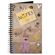 Vintage Chick Back To School Journal
