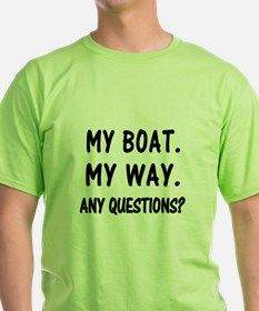 MY BOAT CENTERED T-Shirt