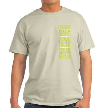 rgt-side-question_grn1010 T-Shirt
