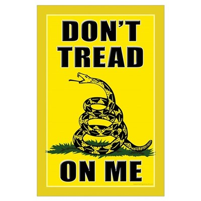 Dont Tread On Me Canvas Art