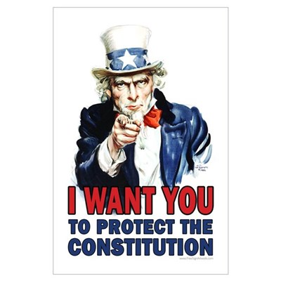 to Protect the Constitution Poster