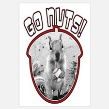 RALLY SQUIRREL Go Nuts St Louis Wall Art