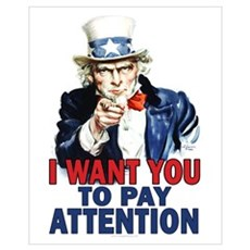 More Uncle Sam Sayings Canvas Art