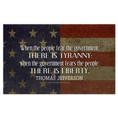 Liberty vs. Tyranny - New Canvas Art