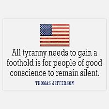 Jefferson Quote on Tyranny