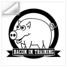 Bacon In Training Wall Decal