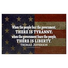 Liberty vs. Tyranny - New Poster