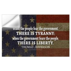 Liberty vs. Tyranny - New Wall Decal