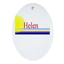 Helen Oval Ornament
