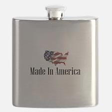 Unique Made in america Flask