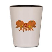 Halloween Pumpkin Ayden Shot Glass