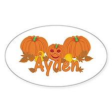 Halloween Pumpkin Ayden Decal