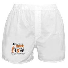 Hope For My 1 Leukemia Boxer Shorts