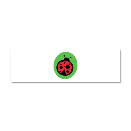 Ladybug Car Magnet 10 x 3